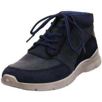 Ecco Komfort Stiefel blau