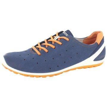 Ecco Komfort Mokassin blau