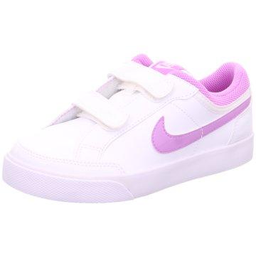 Nike Klettschuh weiß