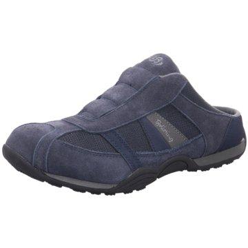 Brütting Komfort Schuh blau