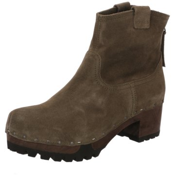 Gabor Plateau Stiefelette oliv