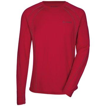 VAUDE Outdoorbekleidung Herren rot