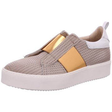 Mjus Modische Slipper beige