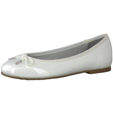 Tamaris Eleganter Ballerina weiß