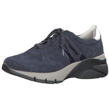 Rieker Schuhe H Damen Plateausneaker Sneaker Schnürsenkeln