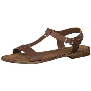 TAMARIS DAMEN Schuhe Sandaletten Aus Leder 40 Mm Absatz