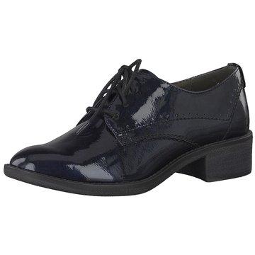 Soft Line Eleganter Schnürschuh blau