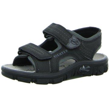 Richter Offene Schuhe schwarz