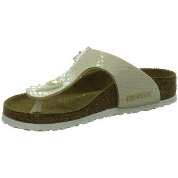 Birkenstock Offene Schuhe gold