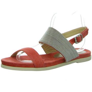 Alma en Pena Modische Sandaletten rot