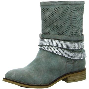 H3 shoes Klassische Stiefelette grün