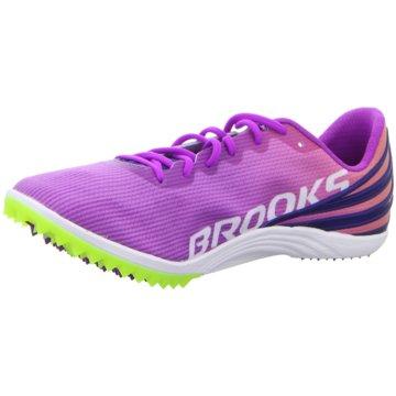 Brooks Spikes pink