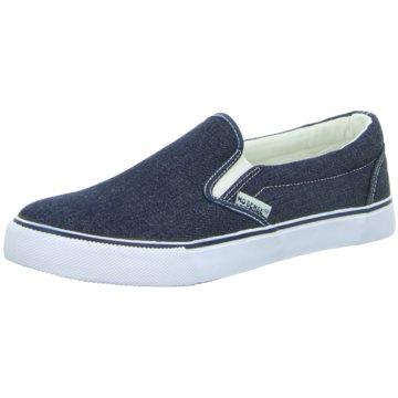 Hengst Footwear Klassischer Slipper blau