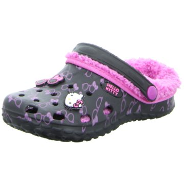 Hello Kitty Clog schwarz