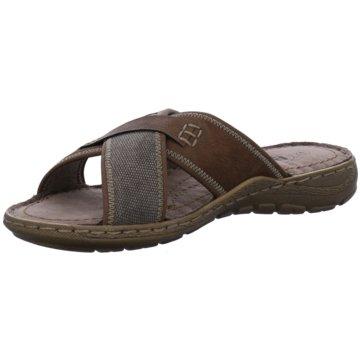 Montega Shoes & Boots Pantolette braun