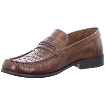 Montega Shoes & Boots Business Mokassin braun