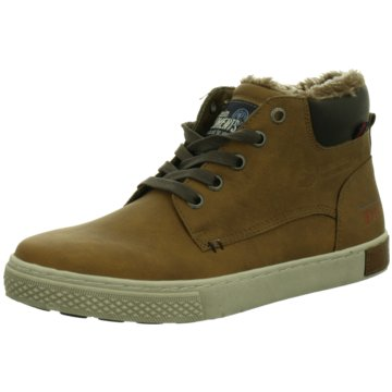 Tom Tailor Sneaker High braun