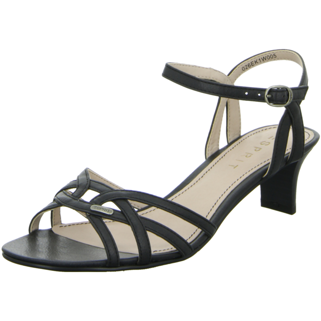 e001 Von 026ek1w005 Schwarz Birkin Riemchensandaletten Sandal Esprit nkwOP8N0X