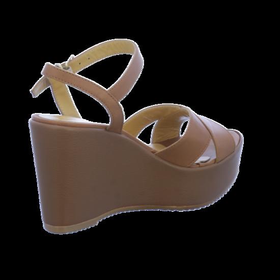 Sandaletten D52519don9 Piu Donna na01 Von Cognac lKcT1JF3