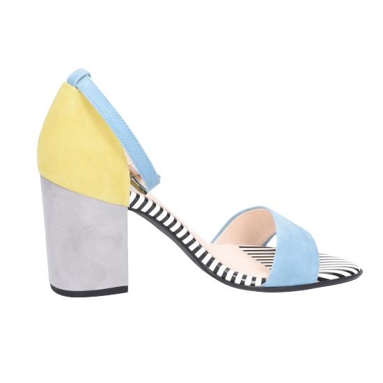 805 09375 Top Kaiser Mix Sandaletten Multicolor Von Trends Peter QCtrshd
