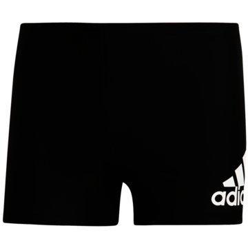 adidas BadeshortsBADGE FITNESS BOXER-BADEHOSE - DY5078 schwarz
