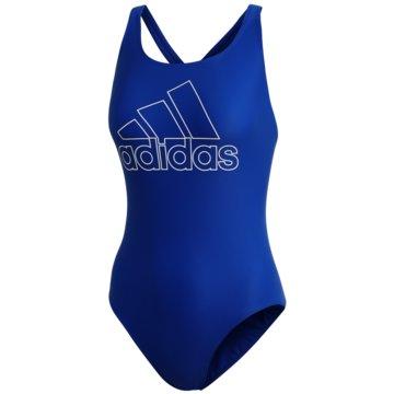 adidas BadeanzügeATHLY V LOGO BADEANZUG - DY5901 blau