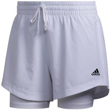 adidas kurze Sporthosen weiß