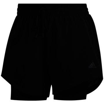 adidas kurze Sporthosen2IN1 WOV SHORT - FJ7203 schwarz