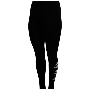 adidas TightsStacked Logo Tights (Plus Size) - FL0530 schwarz