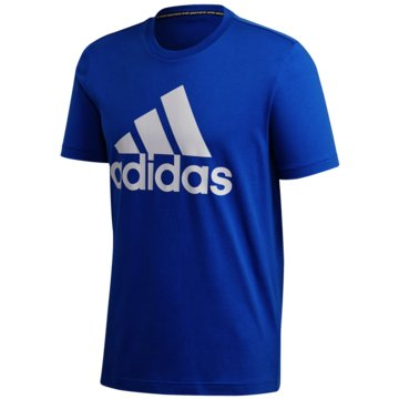 adidas T-ShirtsMUST HAVES BADGE OF SPORT T-SHIRT - FL3944 blau
