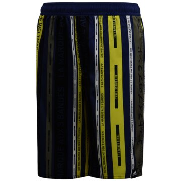 adidas BadeshortsYA AOP SHORTS - FL8718 schwarz