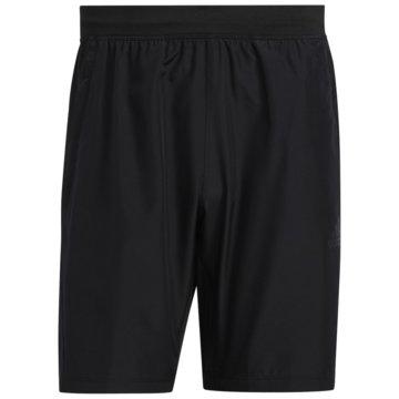 adidas kurze Sporthosen3-STREIFEN 8-INCH SHORTS - FM2146 schwarz