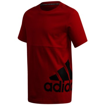 adidas T-ShirtsMUST HAVES BADGE OF SPORT T-SHIRT - FQ7728 rot