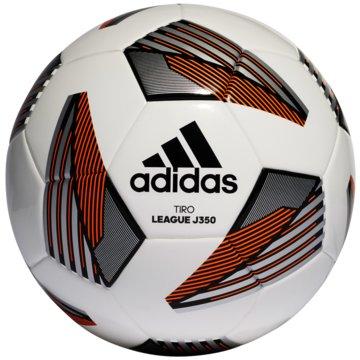 adidas FußbälleTIRO LEAGUE JUNIOR 350 BALL - FS0372 weiß
