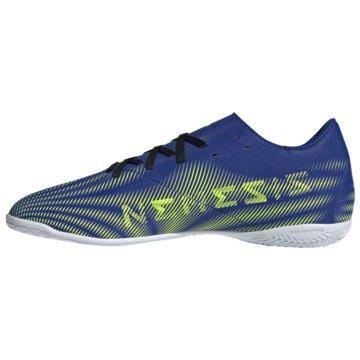 adidas Hallen-SohleNEMEZIZ.4 IN FUßBALLSCHUH - FW7348 blau