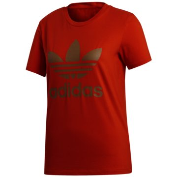 adidas T-ShirtsTREFOIL TEE - GD2434 rot