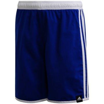 adidas Badeshorts3-STREIFEN BADESHORTS - GE2044 blau