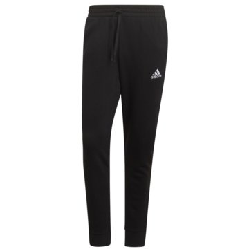 adidas TrainingshosenESSENTIALS FLEECE REGULAR FIT TAPERED CUFF HOSE - GK9268 schwarz