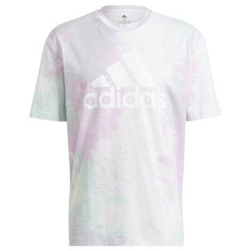 adidas T-ShirtsESSENTIALS TIE-DYED INSPIRATIONAL T-SHIRT - GK9613 grün