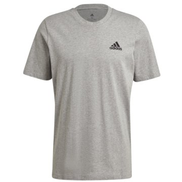 adidas T-ShirtsESSENTIALS EMBROIDERED SMALL LOGO T-SHIRT - GK9641 grau