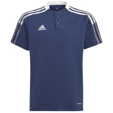 adidas PoloshirtsTIRO 21 POLOSHIRT - GK9673 blau