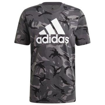 adidas T-ShirtsESSENTIALS CAMOUFLAGE T-SHIRT - GK9951 grau