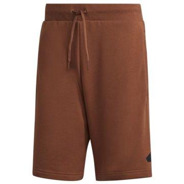 adidas kurze Sporthosen SPORTSWEAR BADGE OF SPORT SHORTS - GM6469 braun