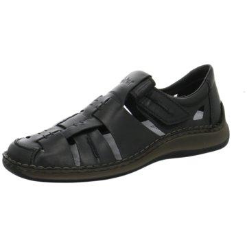 Rieker Komfort SchuhSandale schwarz
