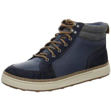 Clarks Sneaker HighLorsen Top blau