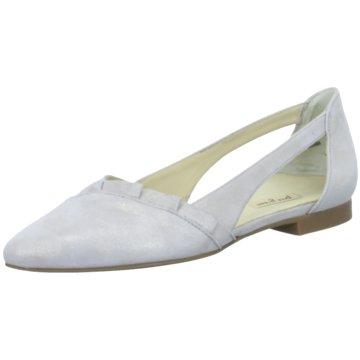 Paul Green Riemchen Ballerina2313 grau