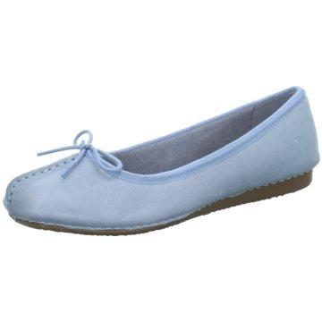Clarks Klassischer BallerinaFRECKLE ICE blau