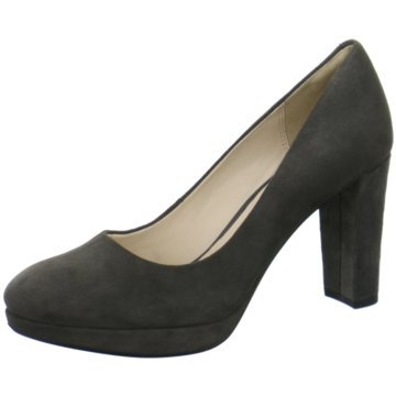 Clarks Pumps grau