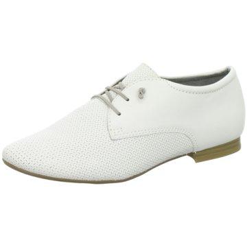 Safe Step Eleganter Schnürschuh weiß