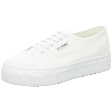 Superga Plateau SneakerAcotw weiß